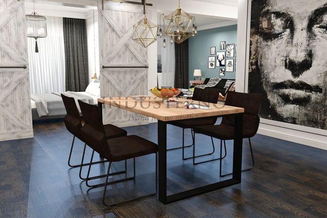 Stół industrialny salon kuchnia metal stal ława loft pod wymiar duży