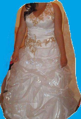 Wyjątkowa suknia ślubna za 200zl!!!