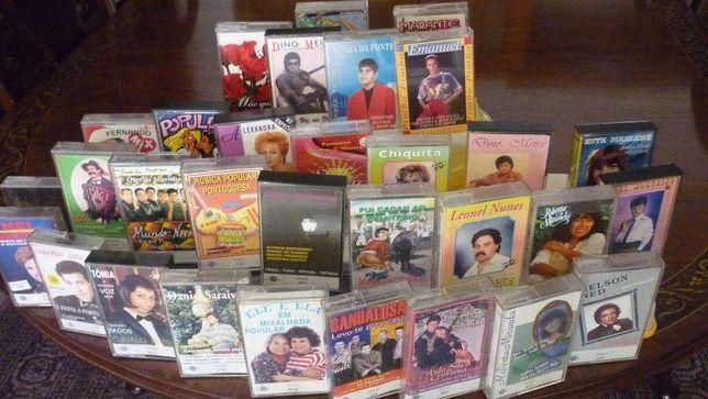 18 - Cassetes de musica Portuguesa diversa