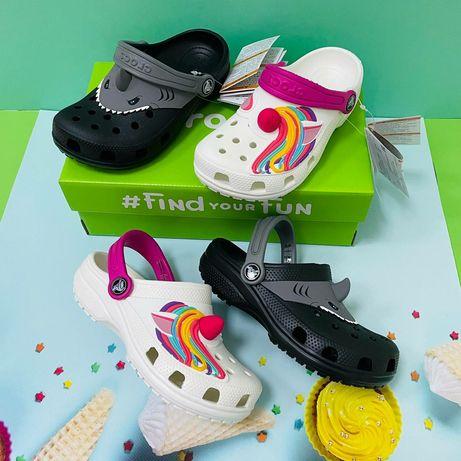 Стильная новинка! Детские кроксы Crocs Classic I AM