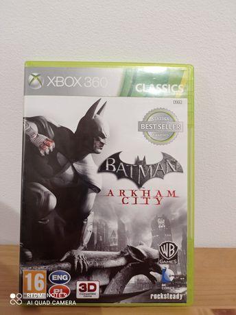 Oryginalna gra Batman Arkham City. Xbox 360