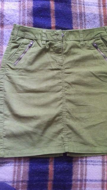 Spódnica sztruksowa damska Tchibo rozmiar 38