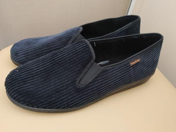 45 р. Fischer новые мужские тапочки мокасины ботинки Fischer, Польша