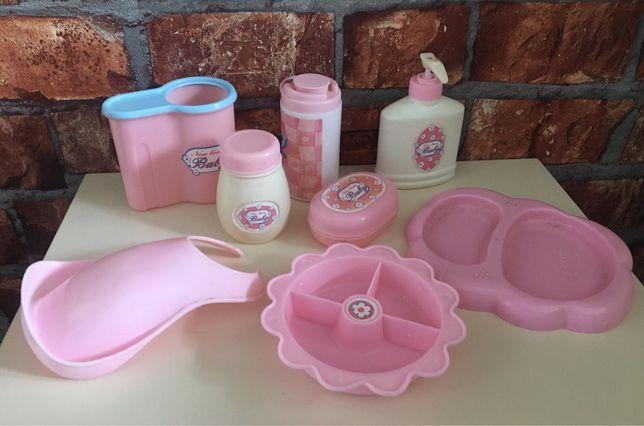 New born baby Набор аксессуаров для пупса куклы посуда