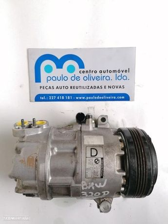 Compressor Do Ar Condicionado Bmw 3 (E46)