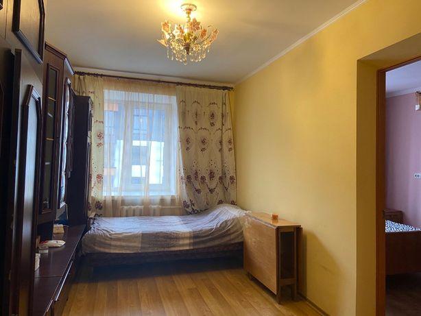2-х кімнатна квартира в гуртожитку, євроремонт, меблі, вул. Коновальця