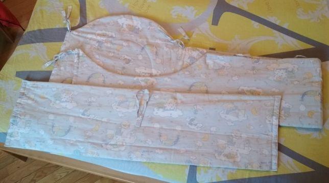 Защитные бортики в детскую кроватку
