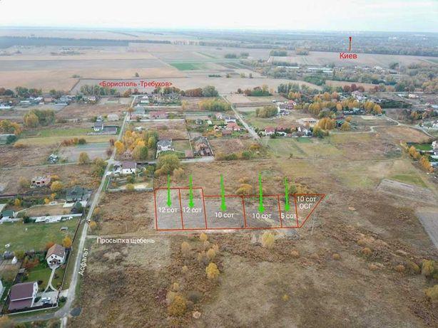 Участок Дударков,стройпаспорт на дуплекс +электричество,20 км от Киева