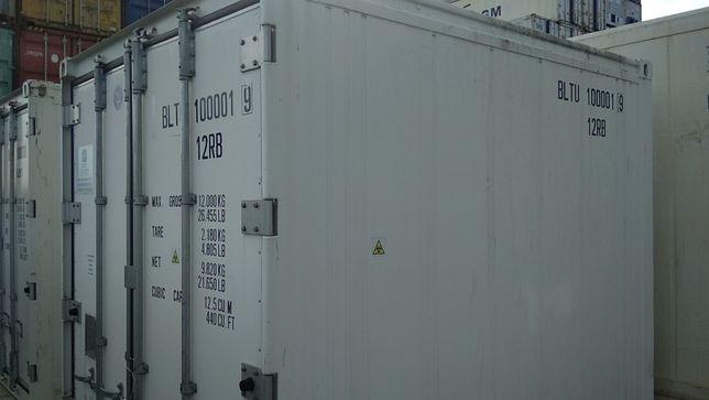Kontener chłodniczy 10'RF (3m) Mobilna chłodnia