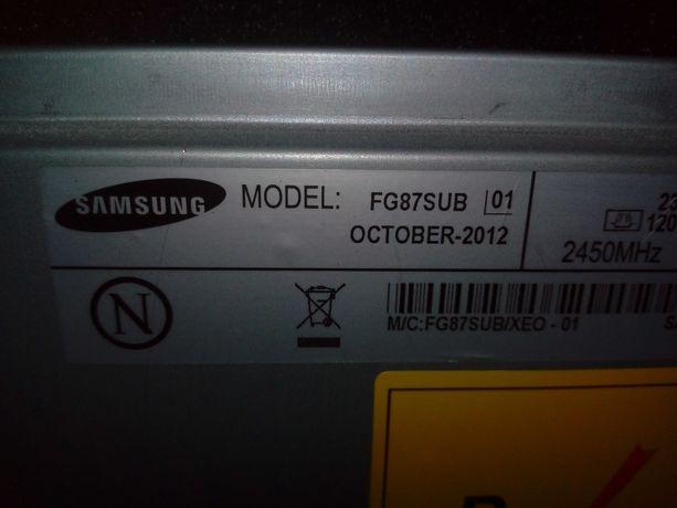 Sprzedam mikrofalę SAMSUNG FG87SUB