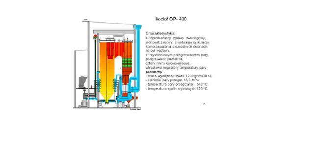 Współspalanie biomasy w bloku elektrowni-projekt