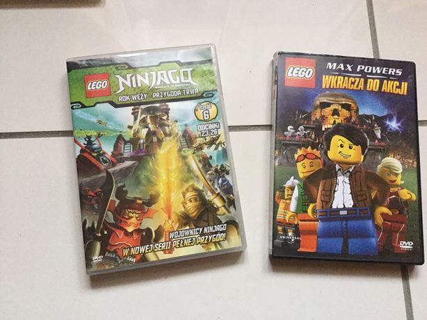 2szt film dvd lego ninjago lub zamiana akwarystyka lub inne