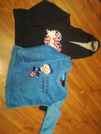 Bluzy chłopięce r. 86 PAKA 8szt