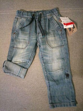 Spodnie c&a r.92 nowe z metką