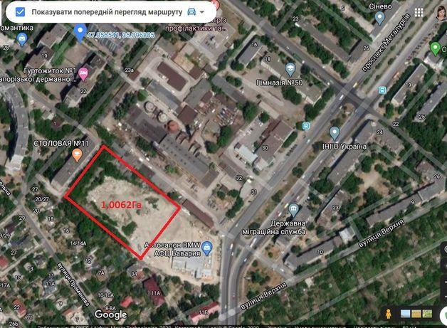 Земельный участок, центр города, 1 Га, проспект Металлургов