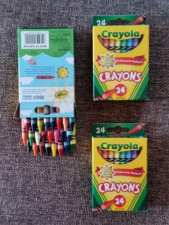 Карандаши восковые Крайола Crayola