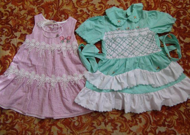 Пакет одежды для девочки на 2-3 года