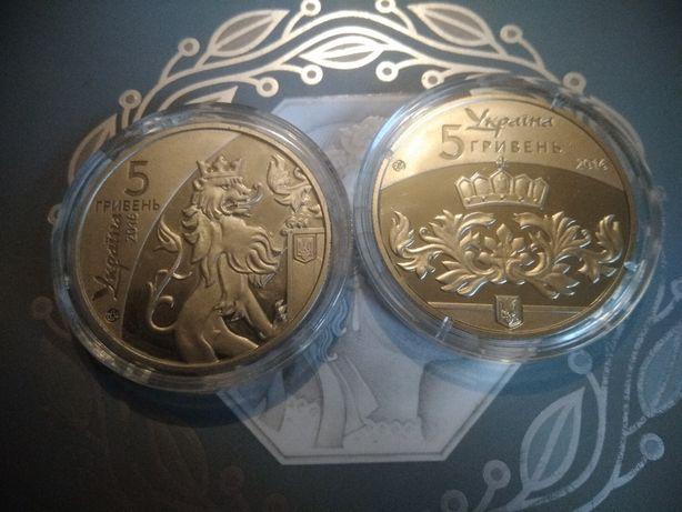 5 гривень коллекционные
