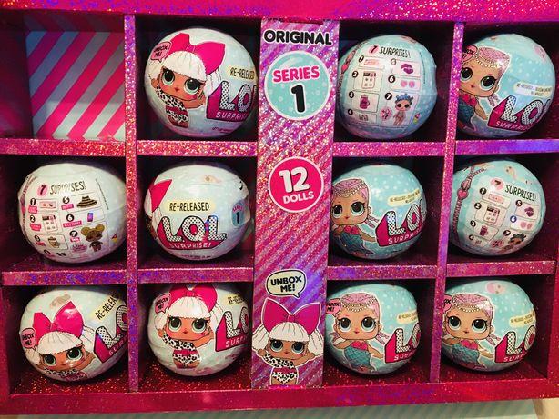 Кукла L.O.L  оригинал! шар с 7 сюрпризов LOL Лол