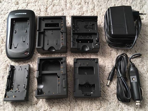 Ładowarka uniwersalna do aparatów Canon, Nikon, Sony, Fuji, JVC, itd.