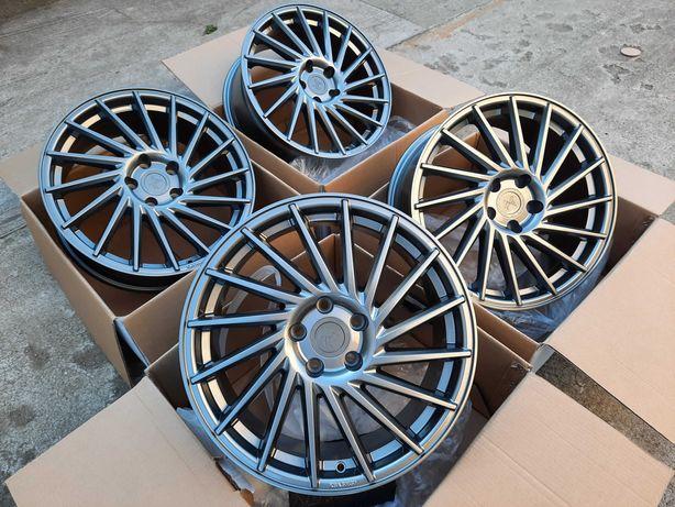 Alufelgi 18 5x112 Mercedes Audi VW BMW Skoda Seat ET45 KESKIN KT17