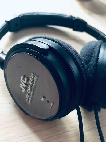 Słuchawki JVC Nauszne, Przewodowe, Technologia: Noise Canceling