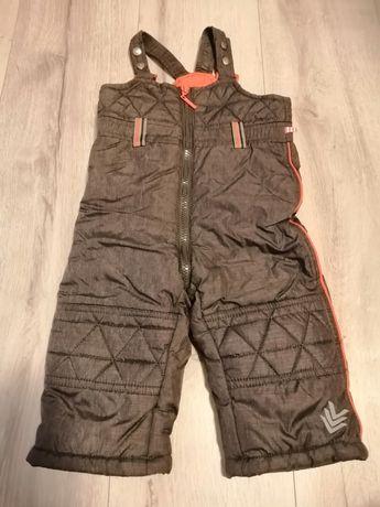 Spodnie zimowe ocieplane wodoszczelne Coccodrillo 80