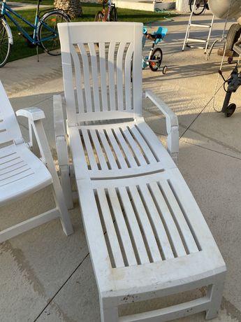 Conjunto cadeiras jardim