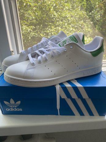 Adidas stan smith оригинал, в коробке, с магазина, натуральная кожа