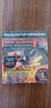 Перчатки для барбекю.
