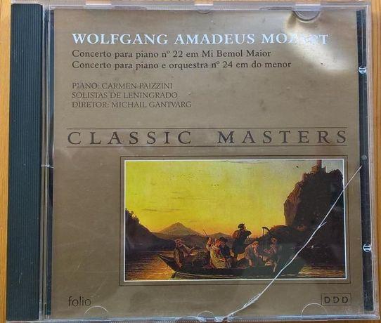 Mozart -Concertos piano 22 & 24 CD