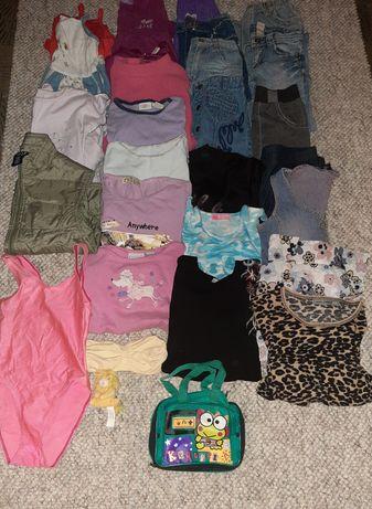 Mega paka ubrań  26 sztuk dla dziewczynki  110 do 116 i wieksze