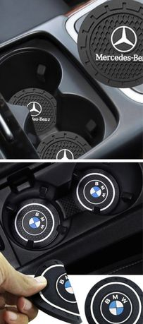 Proteção porta copos BMW, Mercedes 2unid.