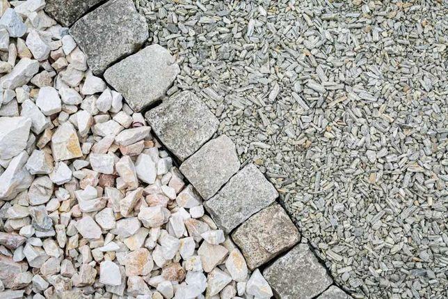 Kostka Brukowa Granitowa (Dostępne również Obrzeża Granitowe)