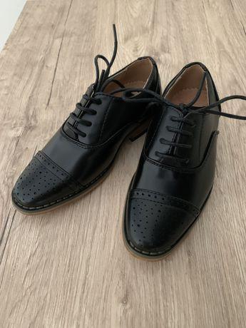 Новые кожаные туфли Paisley of London 27 размер 17 см
