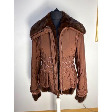 Куртка зимняя Ermanno Scervino шелковая норка