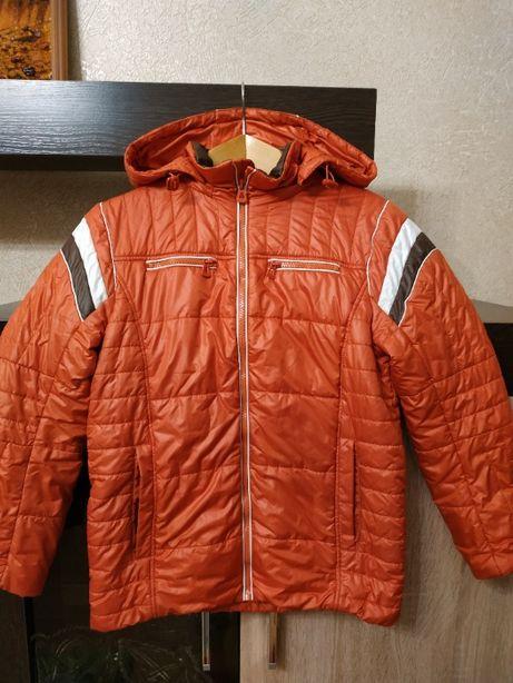 утепленная куртка (весна-осень), р. 146 см