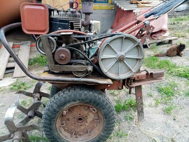Мотоблок мотокультиватор мб-1 советский бензиновый. Минитрактор.
