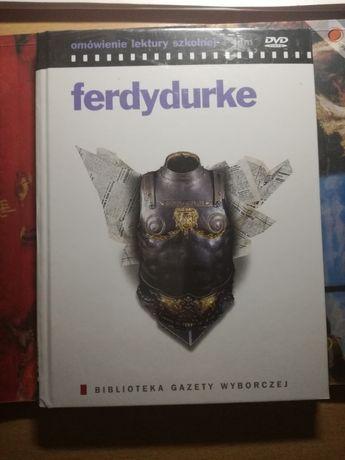 Lektura szkolna Ferdydurke omówienie i film DVD folia