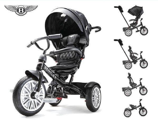 Детский трехколесный велосипед Bentley 8 in 1