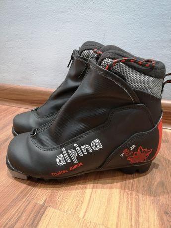 Dziecięce buty do nart biegowych Alpina T5 Plus Jr NNN rozmiar 33