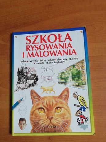 Książka szkoła rysowania i malowania