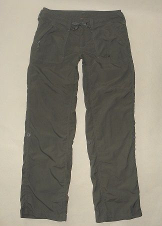 THE NORTH FACE damskie spodnie trekkingowe khaki r.S