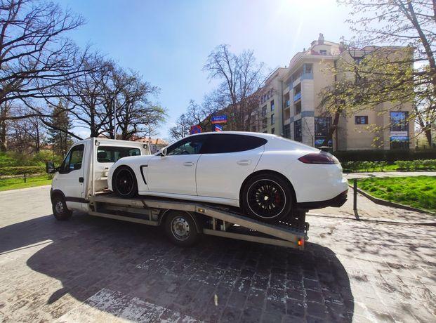 Tania autolaweta laweta holowanie pojazdów Wrocław 24h