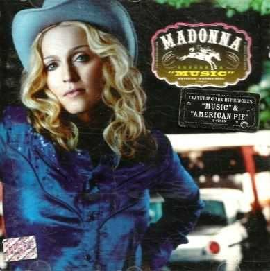 3 CDs de Madonna.