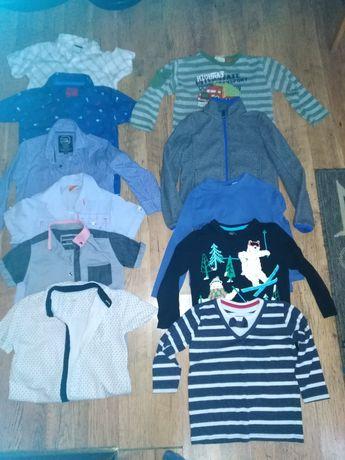 Bluzeczki, spodnie, koszule rozmiar 110