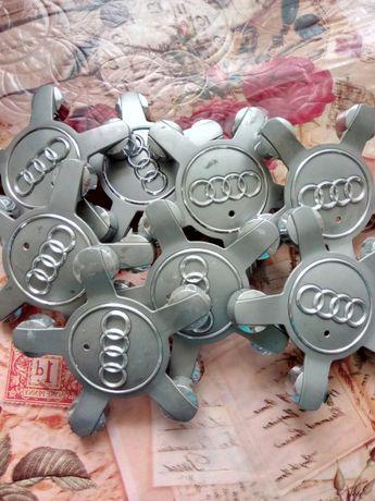 Комплект(4 шт) ковпачків на диски Ауді/Audi