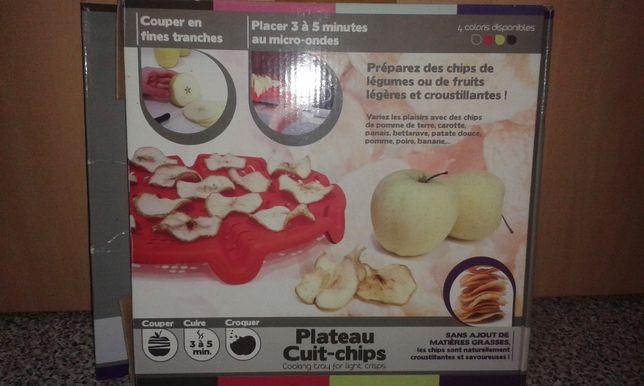 Prato para microondas cozinhar sem gorduras