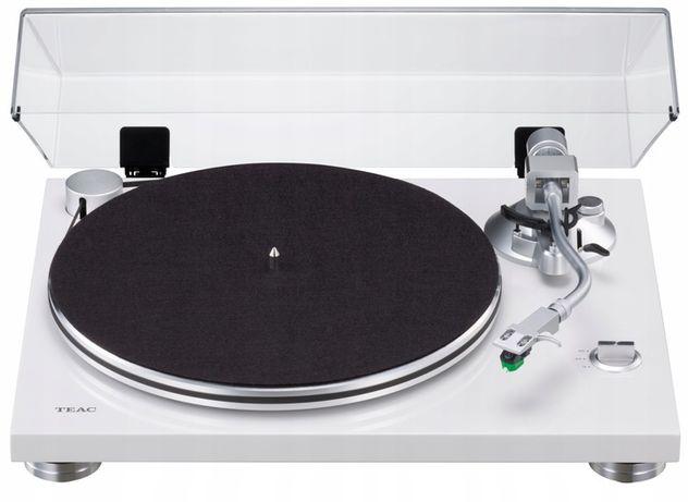 Gramofon TEAC TN-3B USB Przedwzmacniacz - Biały