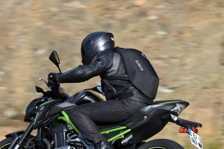 Mochila Aerodinâmica Moto motard Santo António dos Olivais - imagem 1